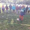 Pirmoji futbolo technikos pamokėlė – kamuolio varymas